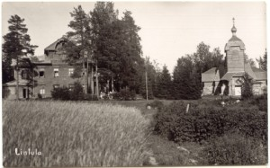Линтульский монастырь на Карельском перешейке