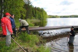 Miikkulan musikoista on tällä kertaa Lintulassa palvelemassa Esa Sovelius, Pekka Lihavainen, Markku Autio ja Olli Lihavainen.